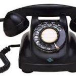 今、いくらなんでも黒電話はまずいだろ〜